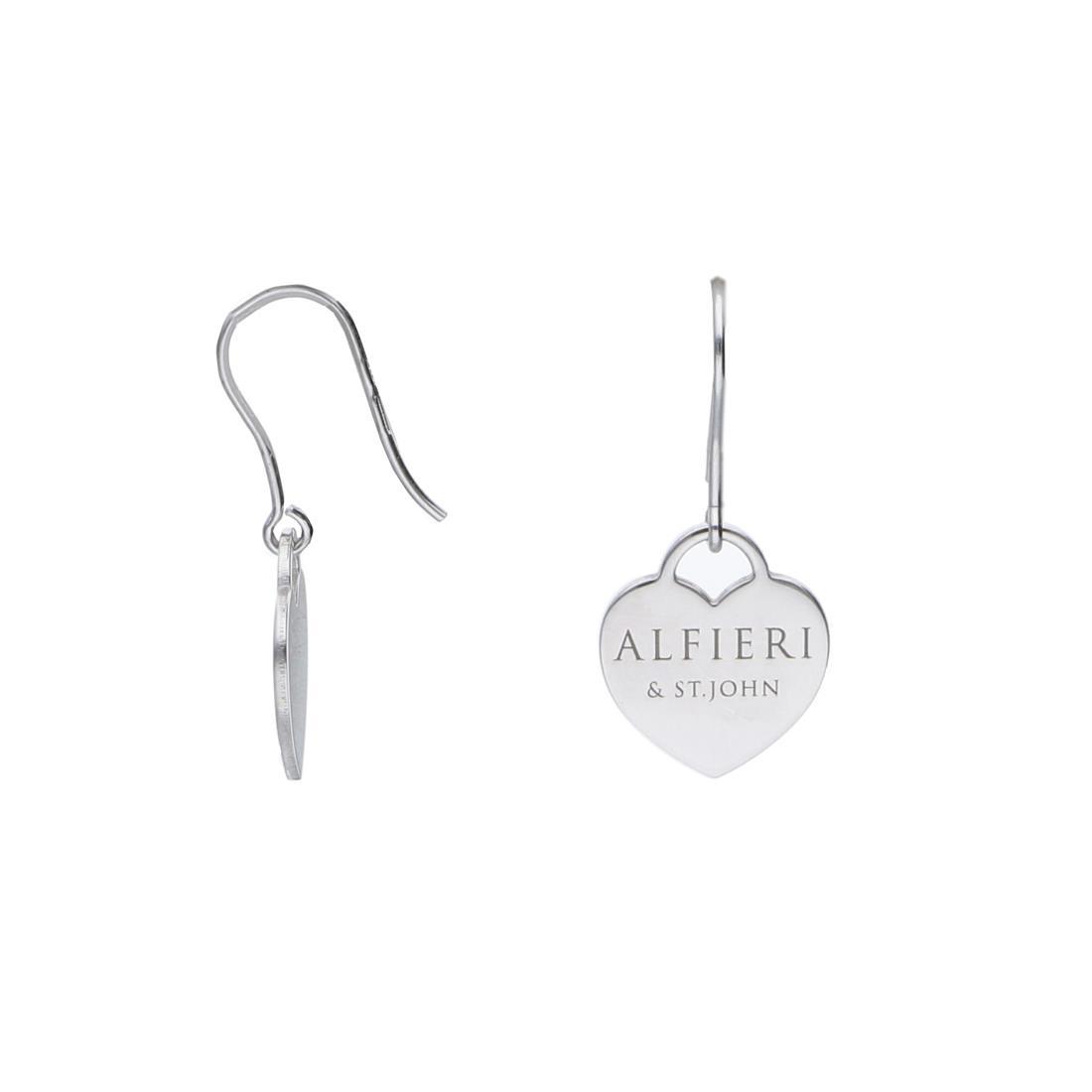 Orecchini pendenti in argento - ALFIERI & ST. JOHN 925