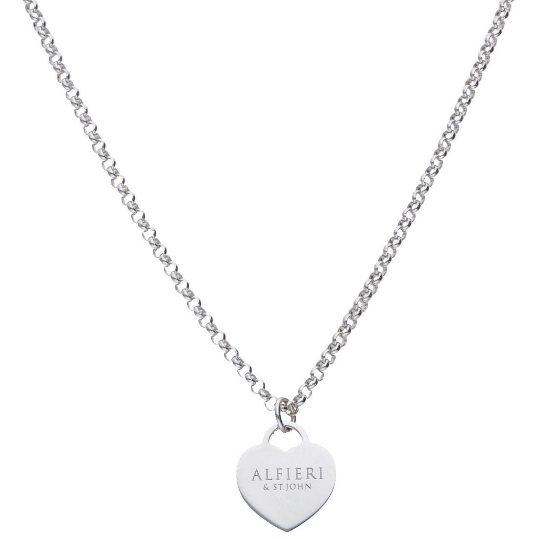Collana in argento con pendente - ALFIERI & ST. JOHN 925