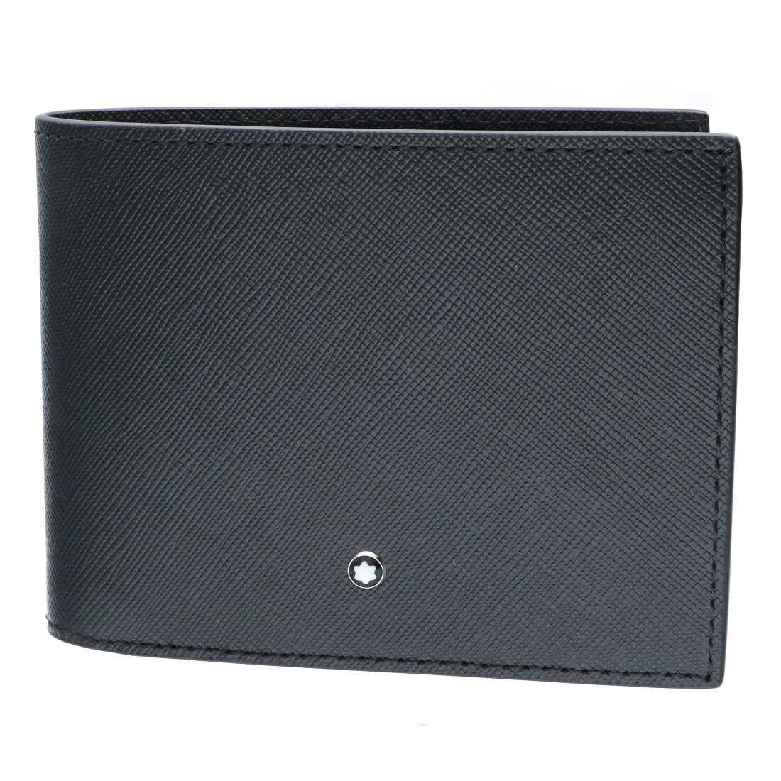 Portafoglio 12 scomparti Sartorial, 2 scomparti per banconote, 4 tasche extra in pelle nera - MONTBLANC