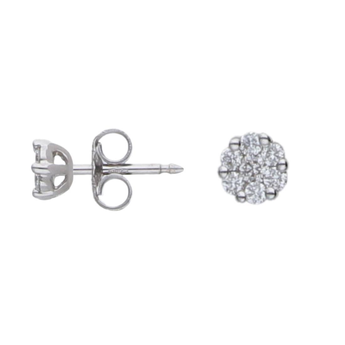 Orecchini punto luce con diamanti ct. 0,30 - ALFIERI & ST. JOHN