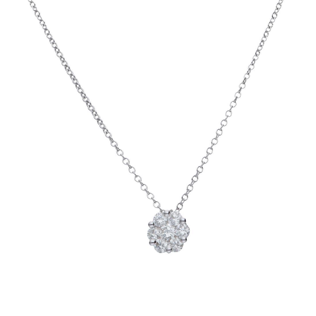 Collana punto luce con diamanti ct. 0,33 - ALFIERI & ST. JOHN