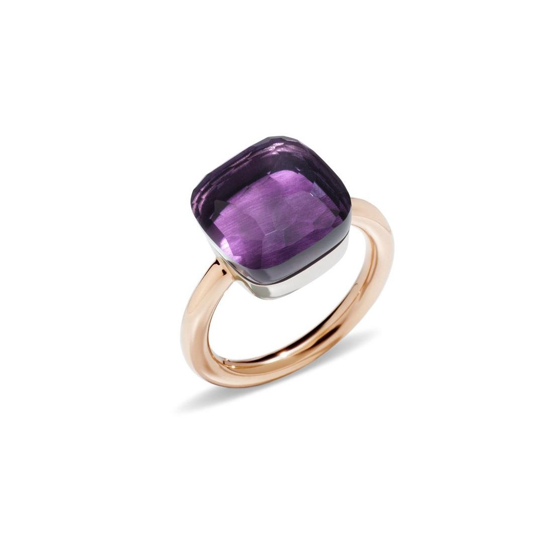 Ring with amethyst - POMELLATO