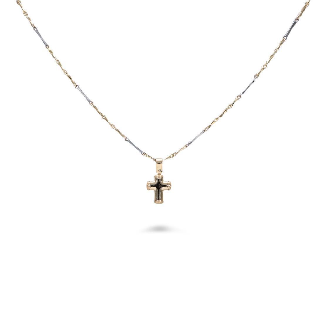Collana con croce - ORO&CO