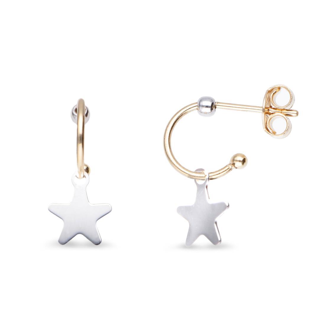 Orecchini con stella - ORO&CO