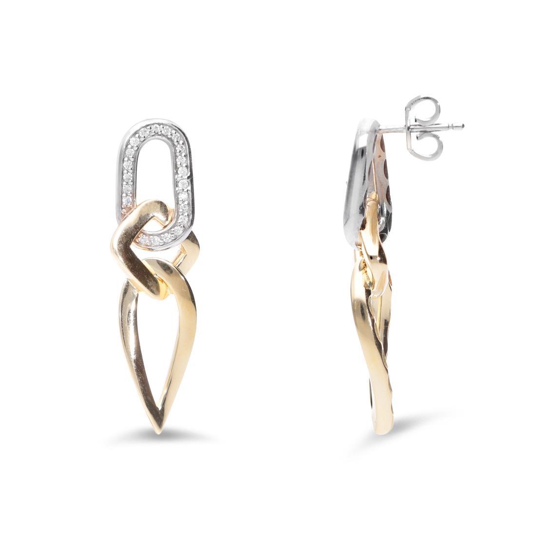 Orecchini pendenti con diamanti - ALFIERI & ST. JOHN