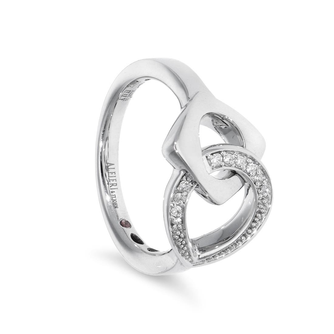 Anello con diamanti - ALFIERI & ST. JOHN