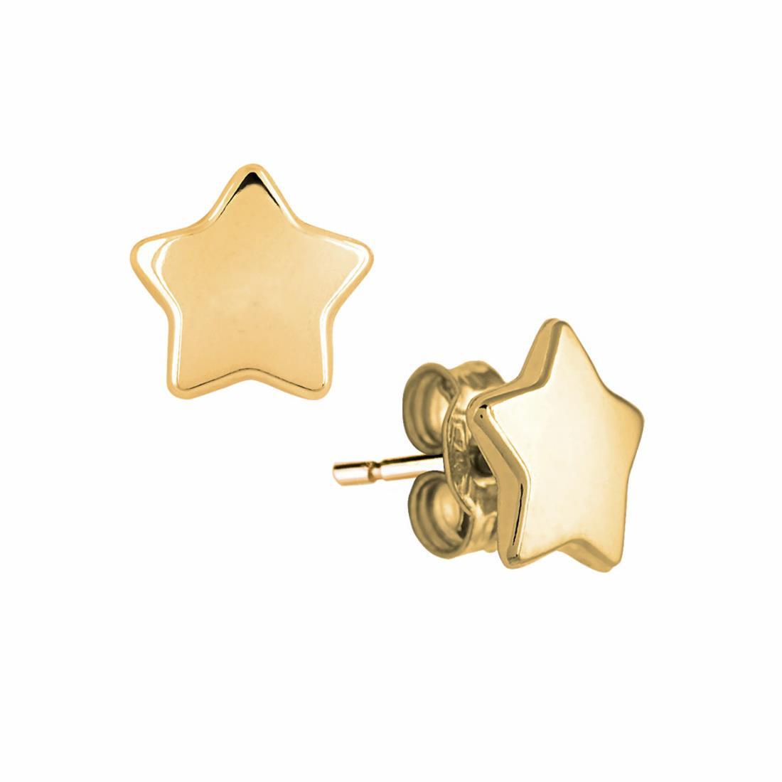 Orecchini in oro giallo stelline - ORO&CO