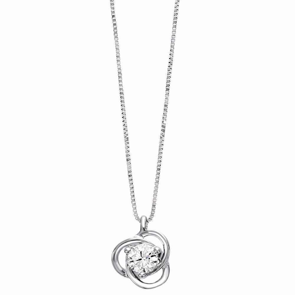 Necklace with diamond - BLISS