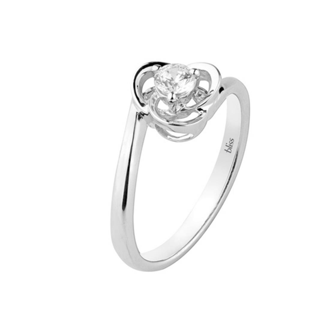 Anello con diamante - BLISS