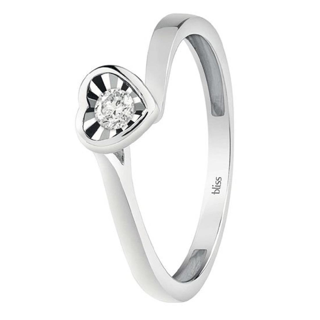 Anello cuore con diamante - BLISS