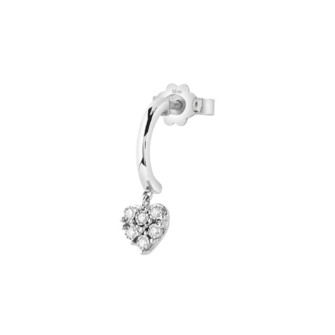 Mono orecchino con diamanti - BLISS