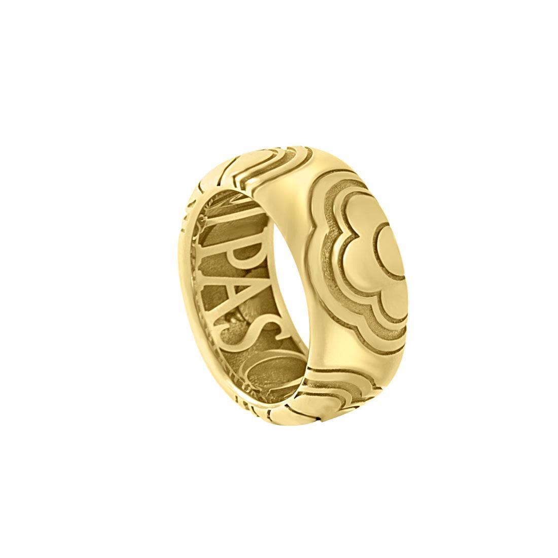 Anello in oro giallo, misura 14 - PASQUALE BRUNI