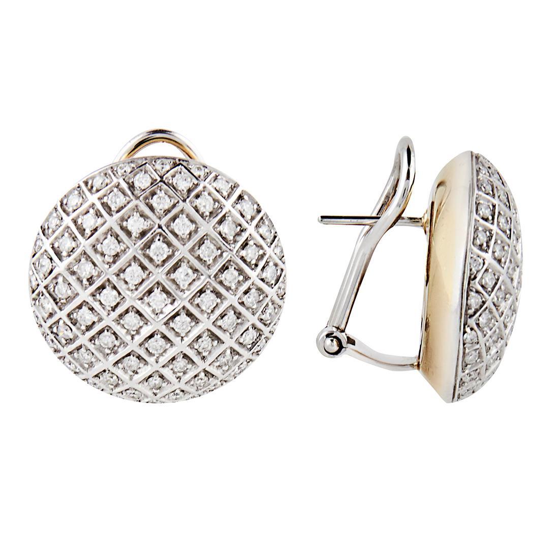 Orecchini in oro e diamanti - DAMIANI