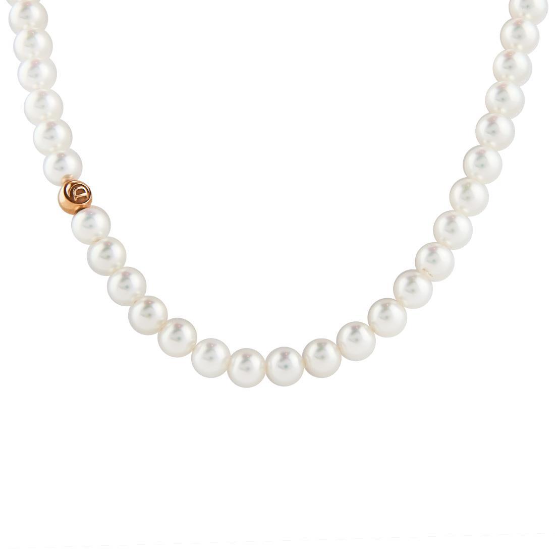 Collana di perle e oro giallo - DAMIANI
