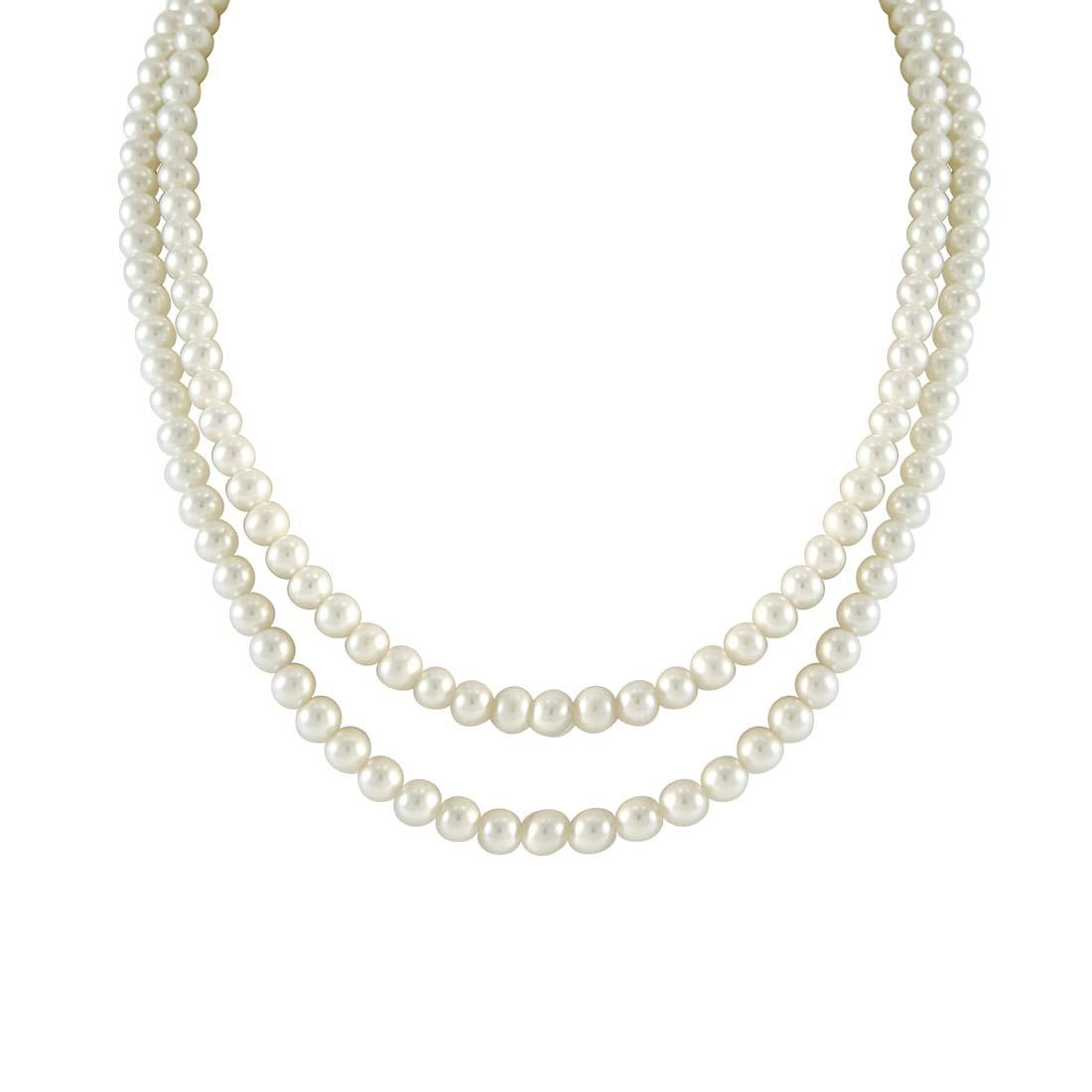 Collana di perle Freshwater  - ORO&CO