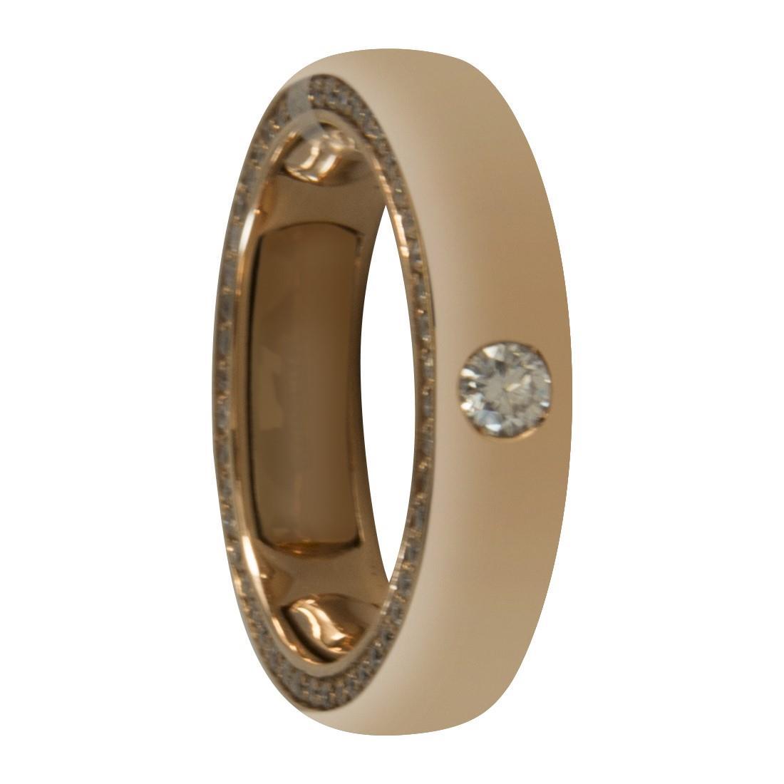 Anello in oro 18kt con diamanti ct 0.65 - ALFIERI ST JOHN