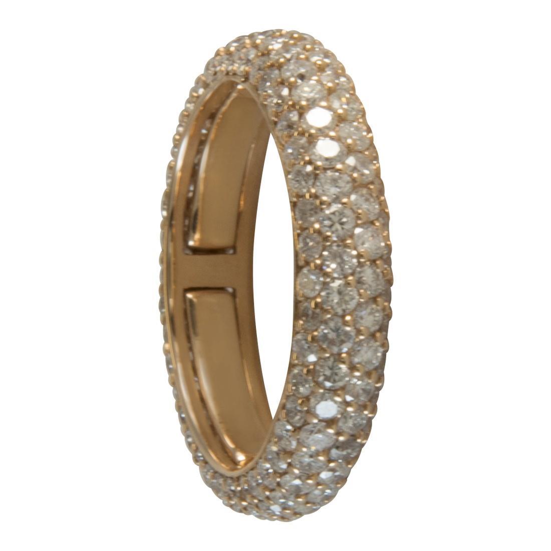 Anello in oro 18kt con diamanti ct 2.60 - ALFIERI ST JOHN