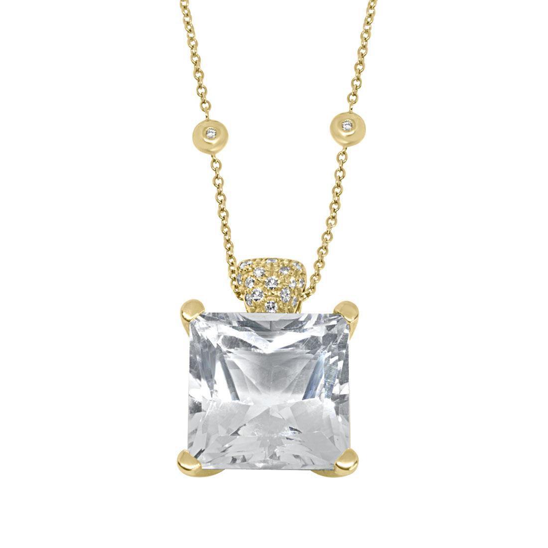 Collana in oro giallo con pietra semipreziosa - ALFIERI ST JOHN