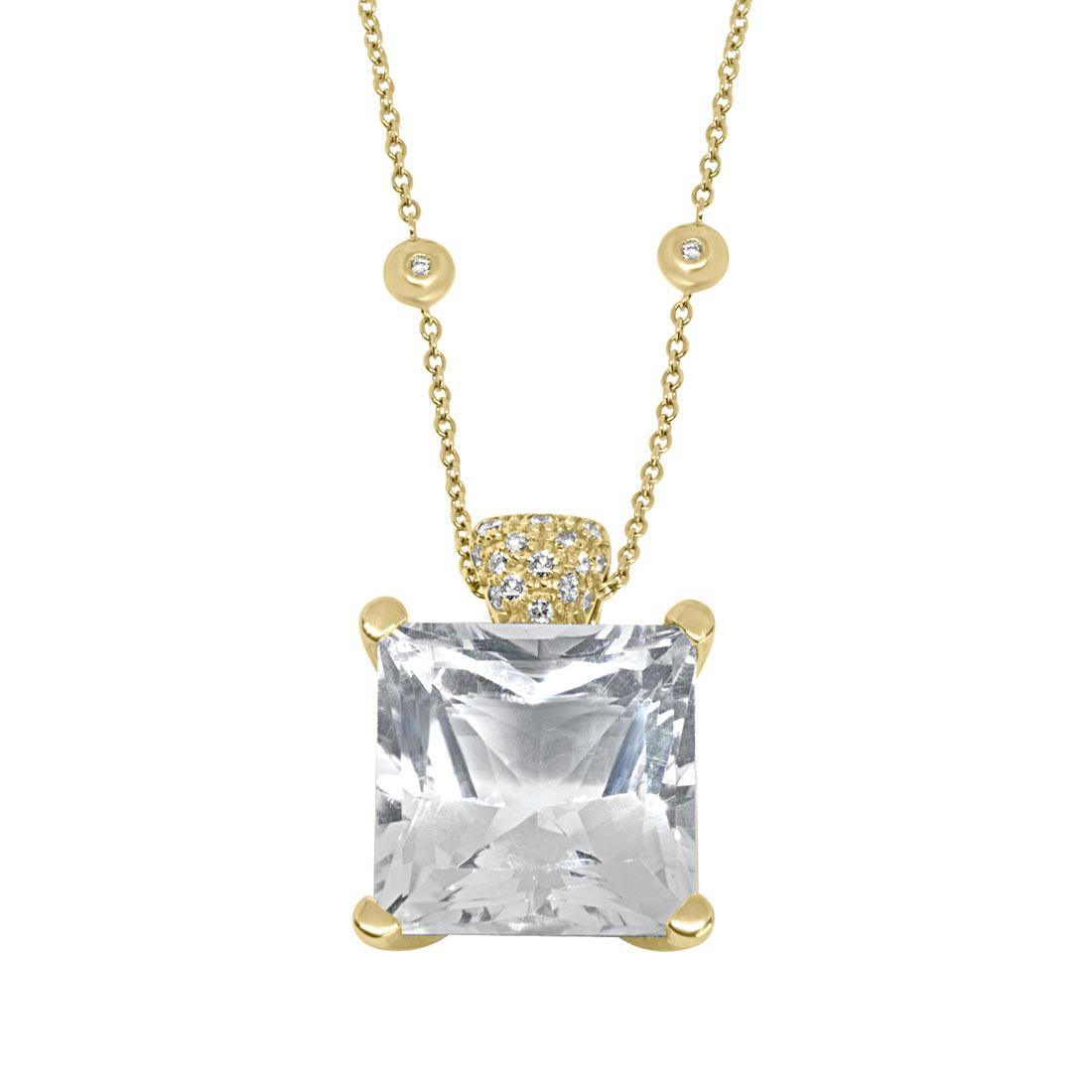 Collana in oro giallo con pietra semipreziosa - ALFIERI & ST.JOHN