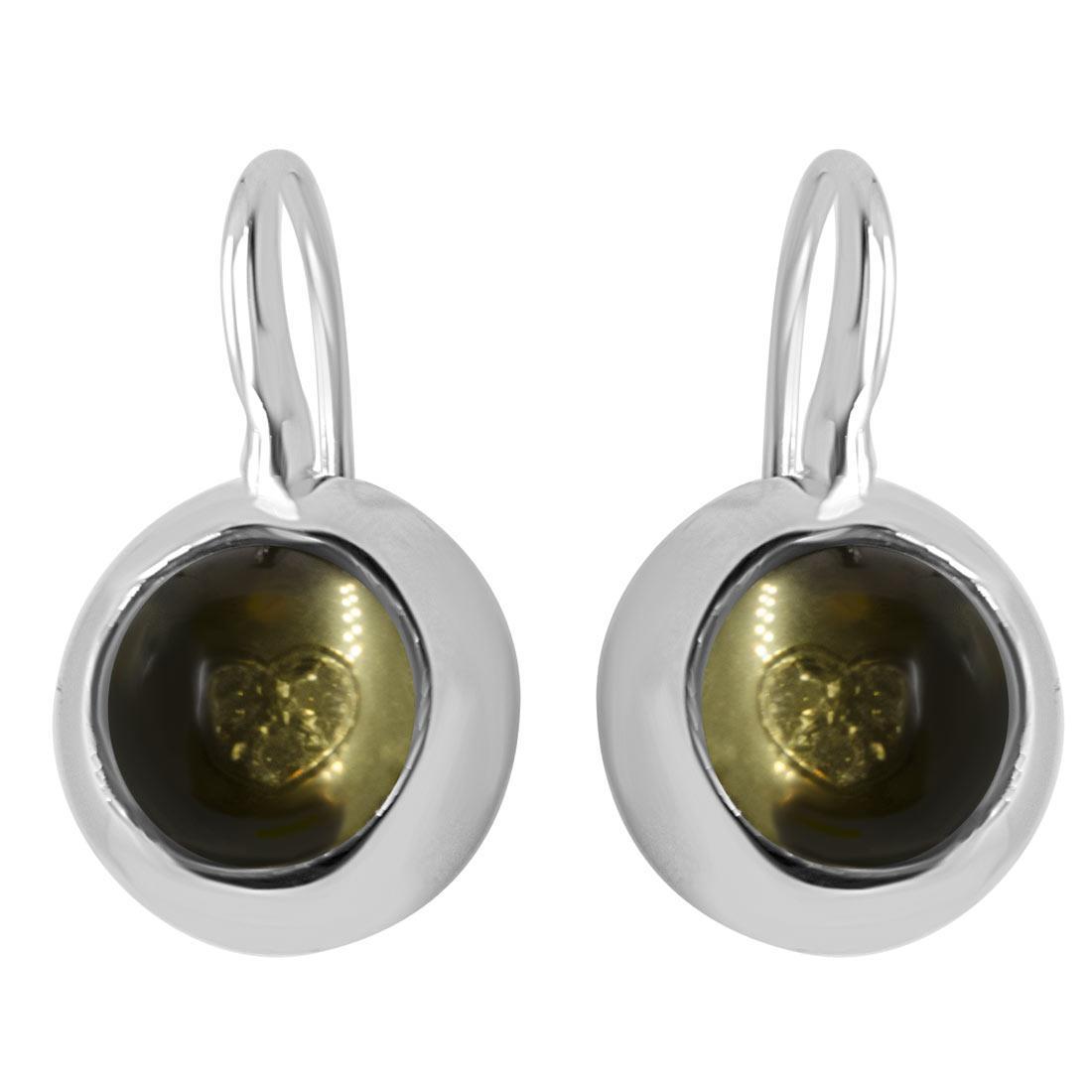 Orecchini in oro bianco con diamanti - PASQUALE BRUNI