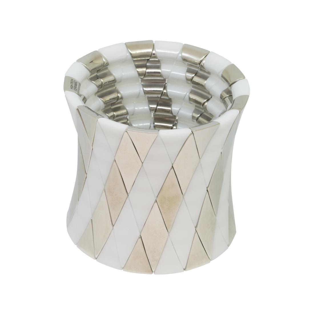 Bracciale rigido in ceramica - ROBERTO DEMEGLIO