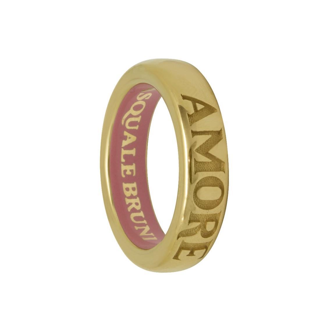 Anello in oro rosso Amore mis 17 - PASQUALE BRUNI