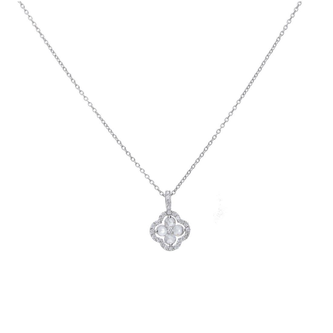 Collana con pendente design con diamanti - ALFIERI & ST. JOHN