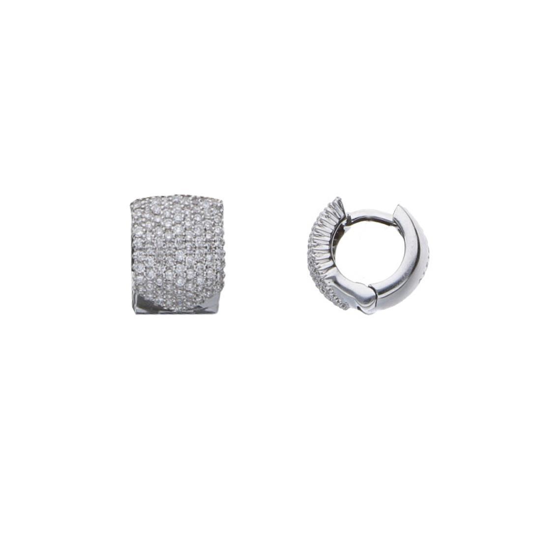 Orecchini a lobo con diamanti - ALFIERI & ST. JOHN