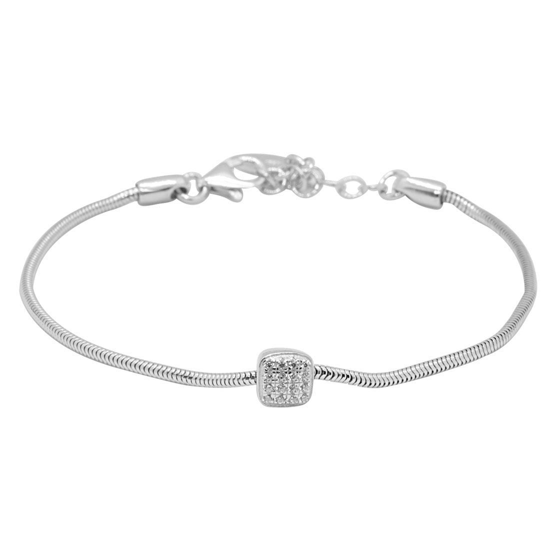 Bracciale Oro & Co in argento con zirconi - ORO&CO