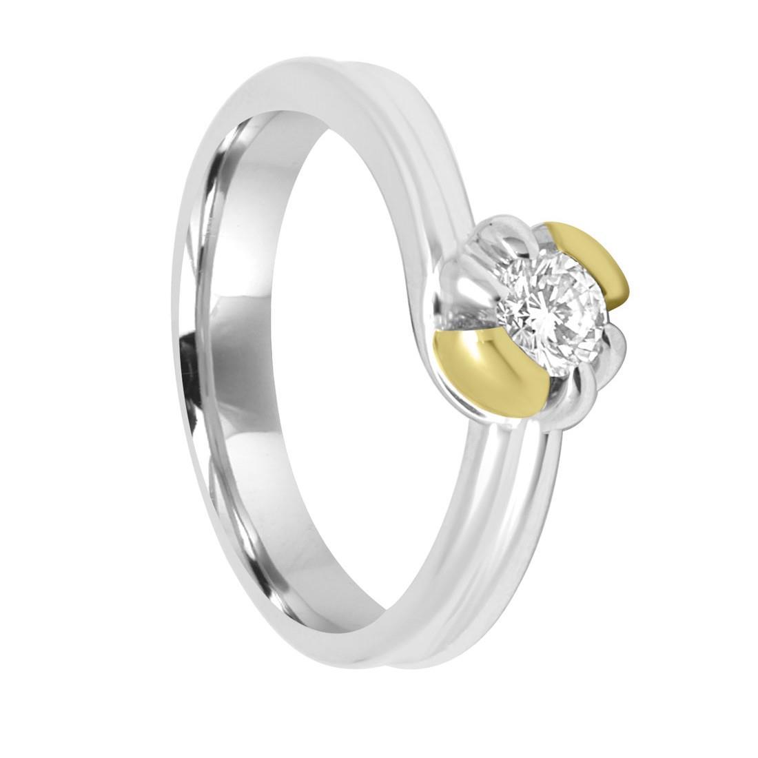 Anello Damiani con diamanti ct 0,43 - DAMIANI