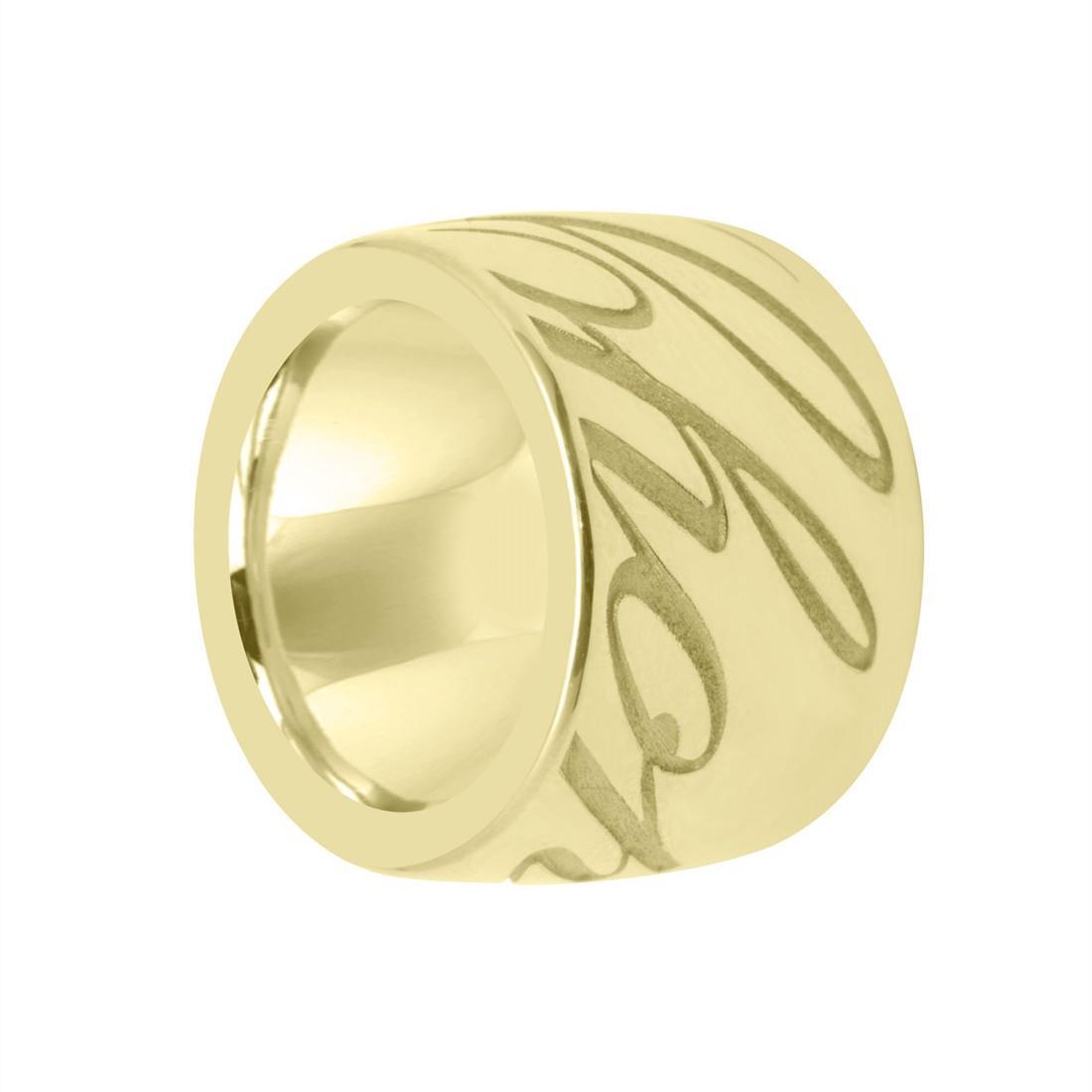 Anello a fascia in oro giallo mis 5 - CHOPARD