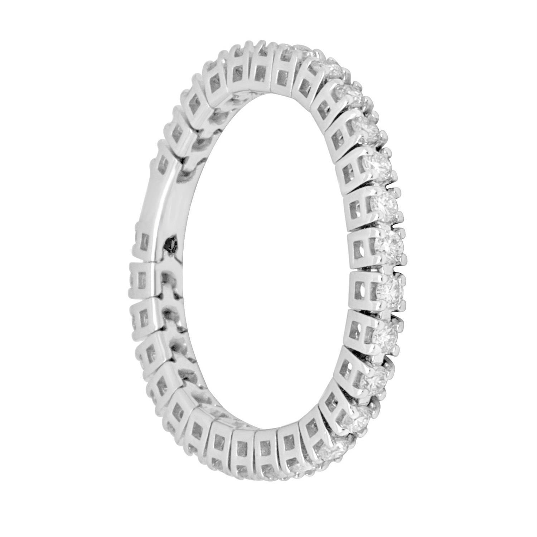 Anello eternity con diamanti - ROBERTO DEMEGLIO