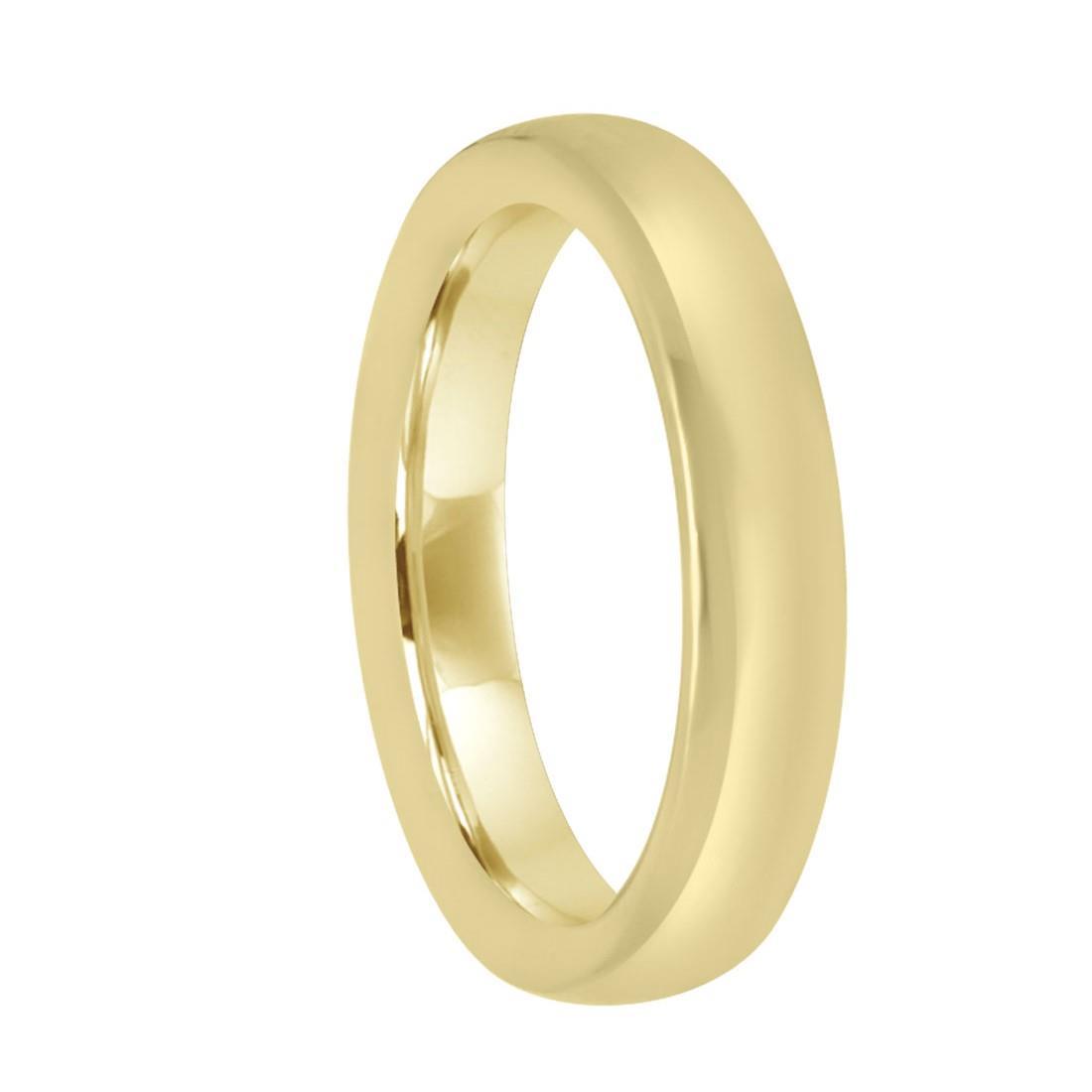 Anello in oro giallo con diamante ct 0.01, misura 13 - DAMIANI