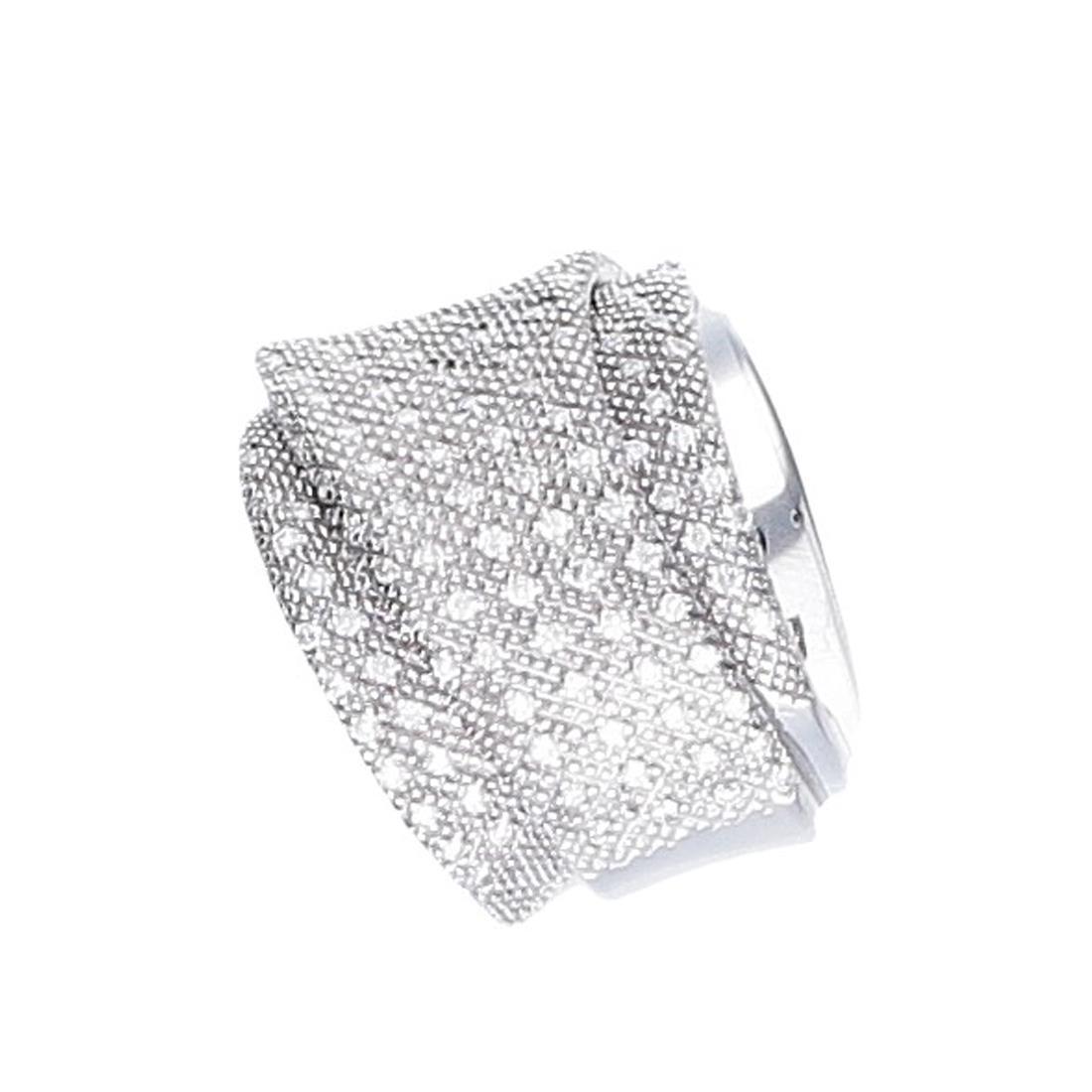Anello Pasquale Bruni con diamanti ct 0,77 mis 20 - PASQUALE BRUNI