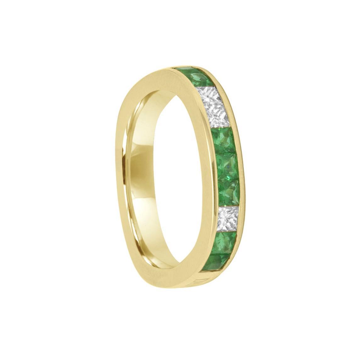 Anello Damiani in oro giallo con diamanti ct 0,25 - DAMIANI