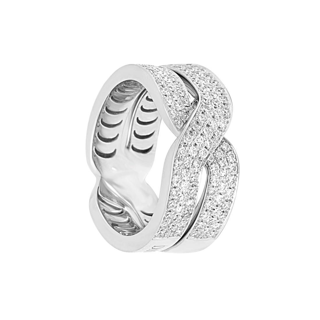 Anello con diamanti - DAMIANI