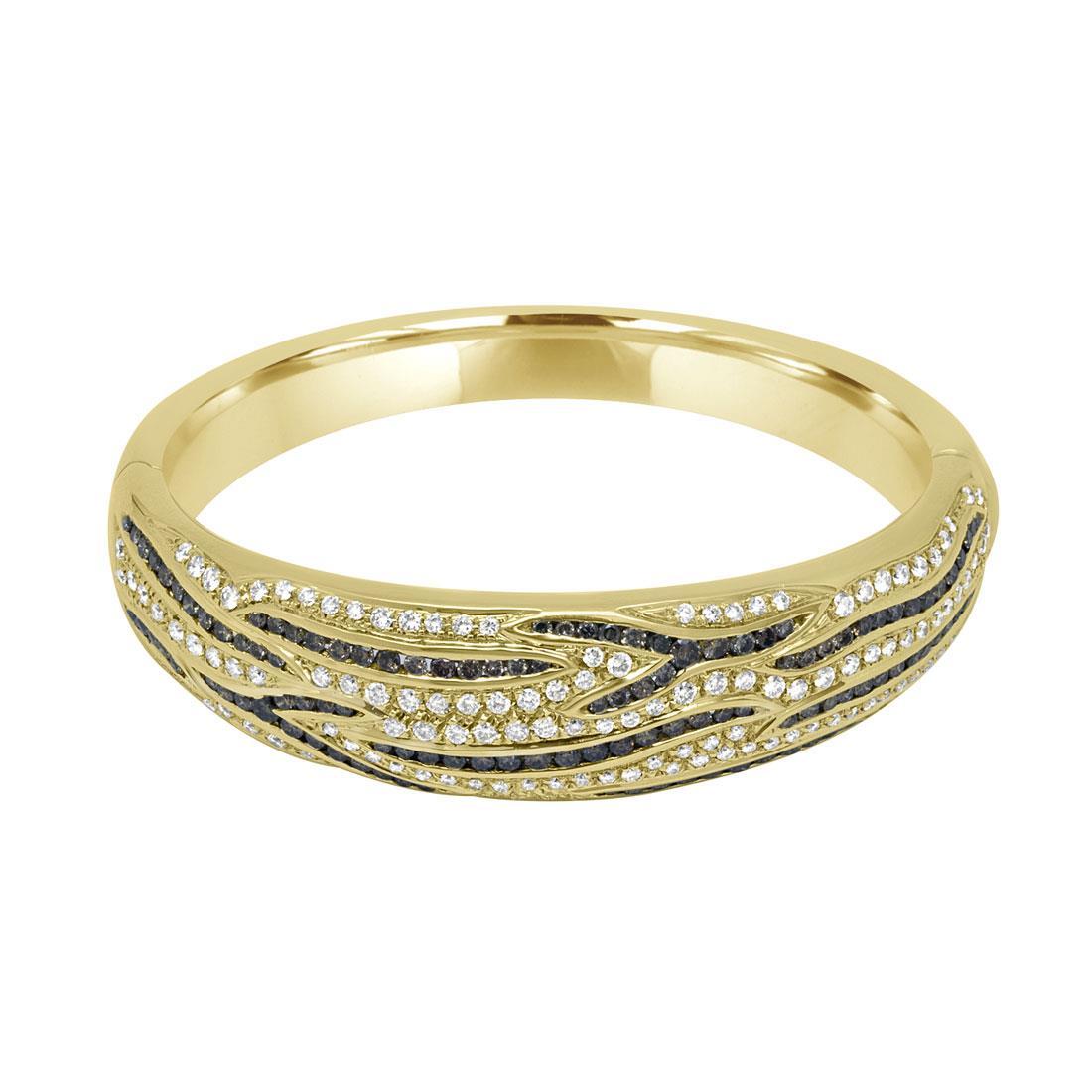 Bracciale rigido con diamanti - DAMIANI
