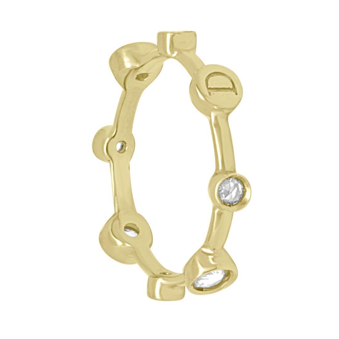 Anello oro giallo e diamanti - DAMIANI