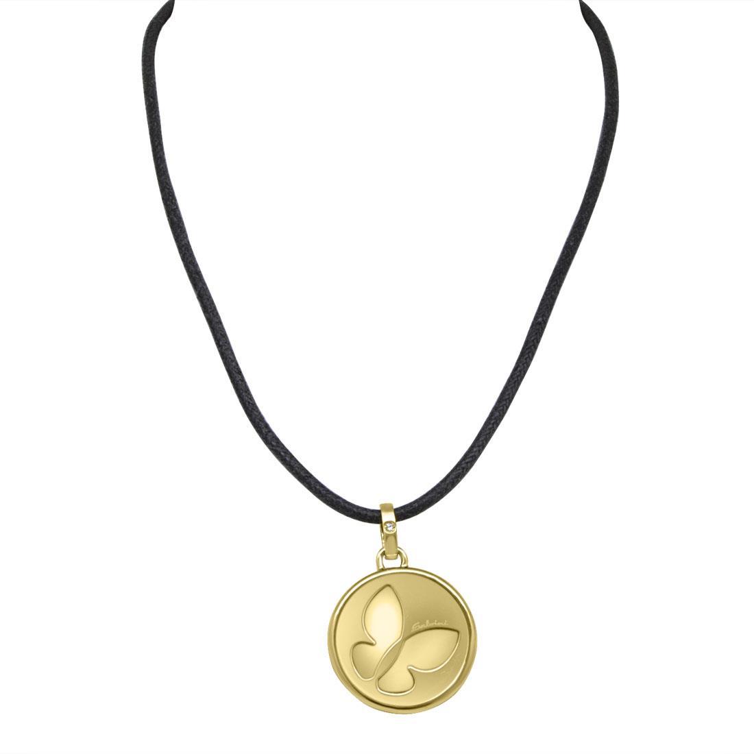 Collier con ciondolo in oro giallo - SALVINI