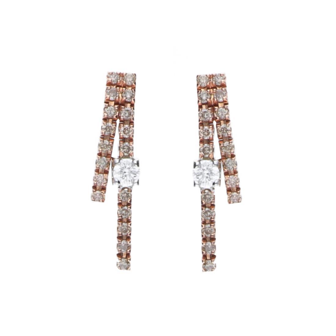 Luxury Zone - Alfieri & St. John - Orecchini in oro con diamanti