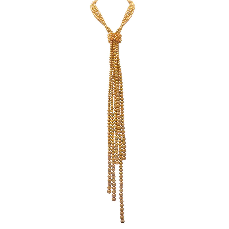 Collana perle gold - RIVIK