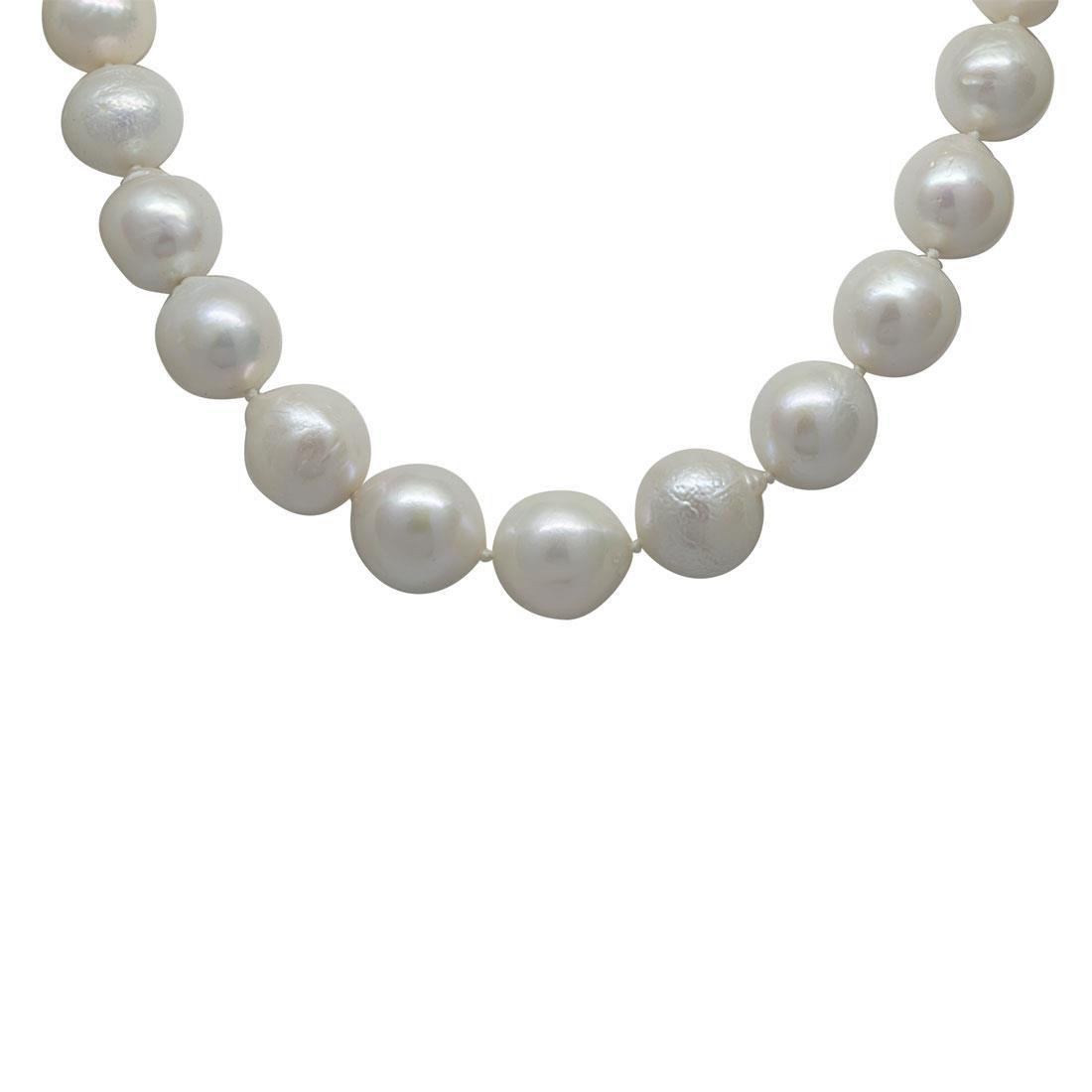 Collana filo di perle - RIVIK