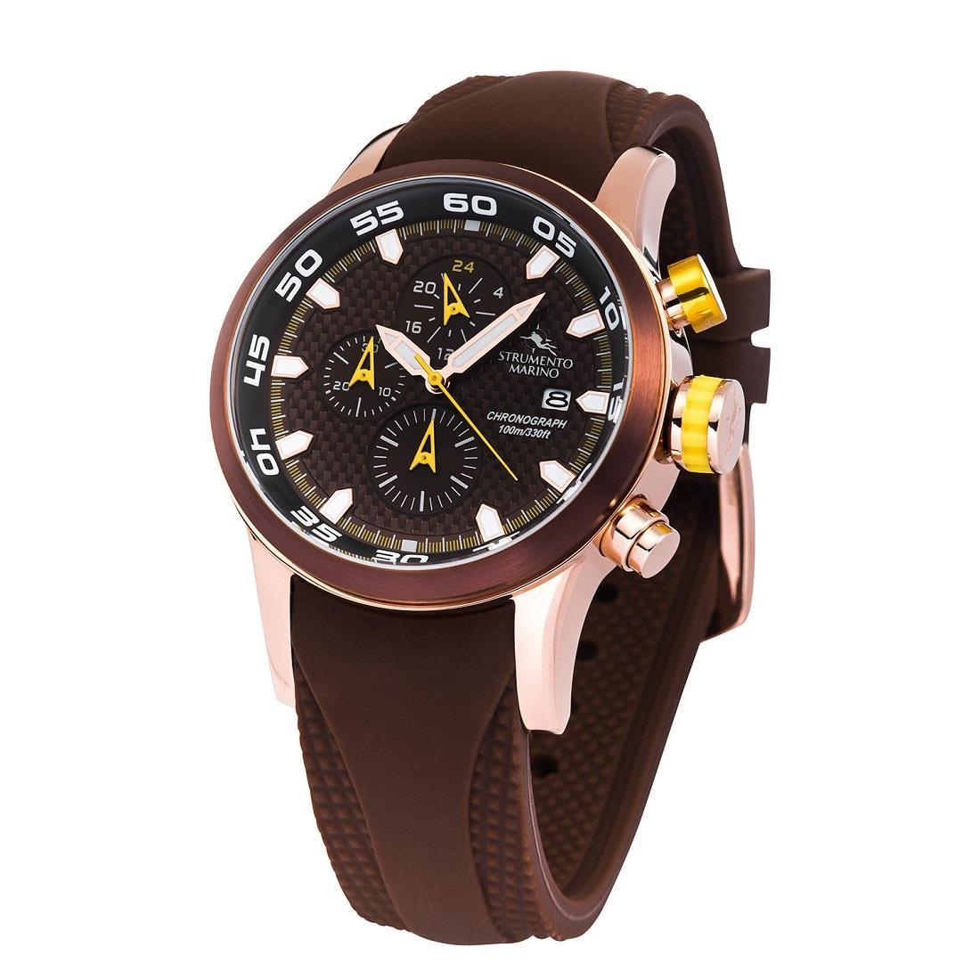 Reloj con caja de 46 mm - STRUMENTO MARINO