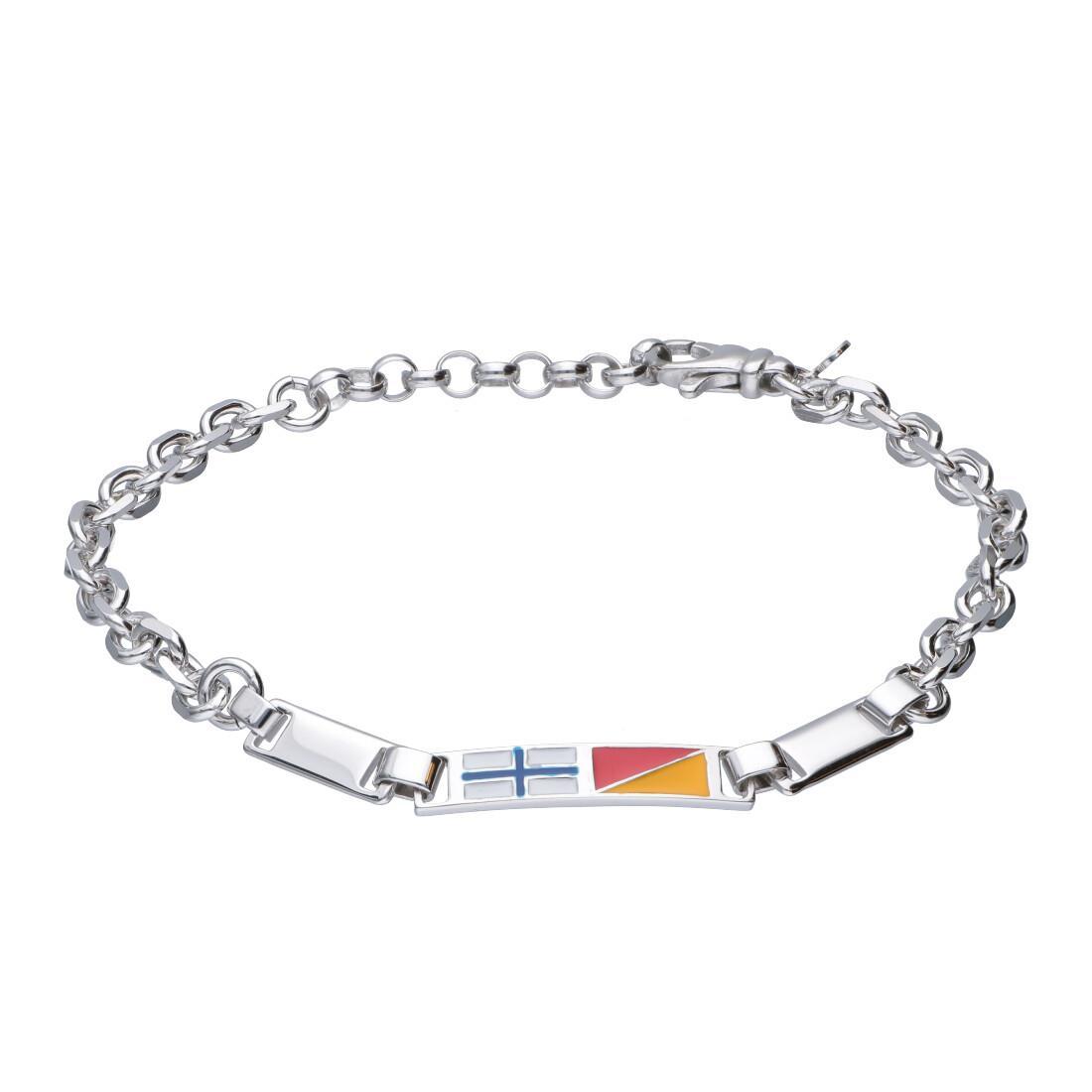 Bracciale uomo in argento 925 - ORO&CO