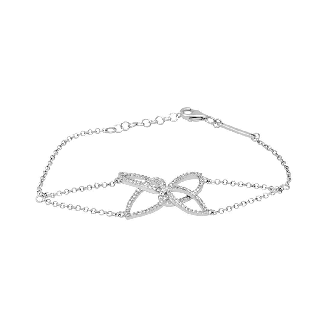 Bracciale in argento con zirconi - MORELLATO