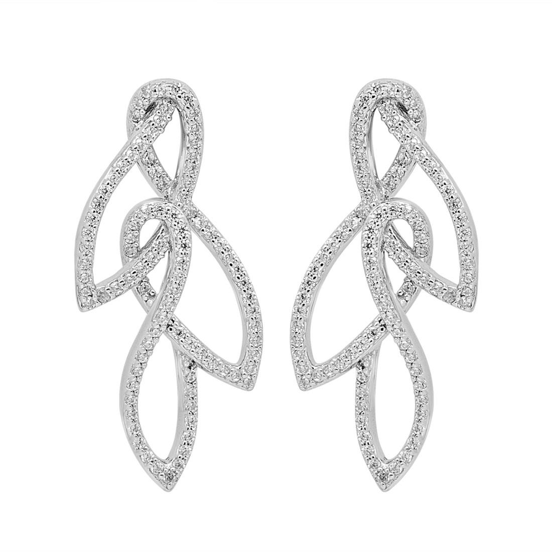 Orecchini in argento con zirconi - MORELLATO