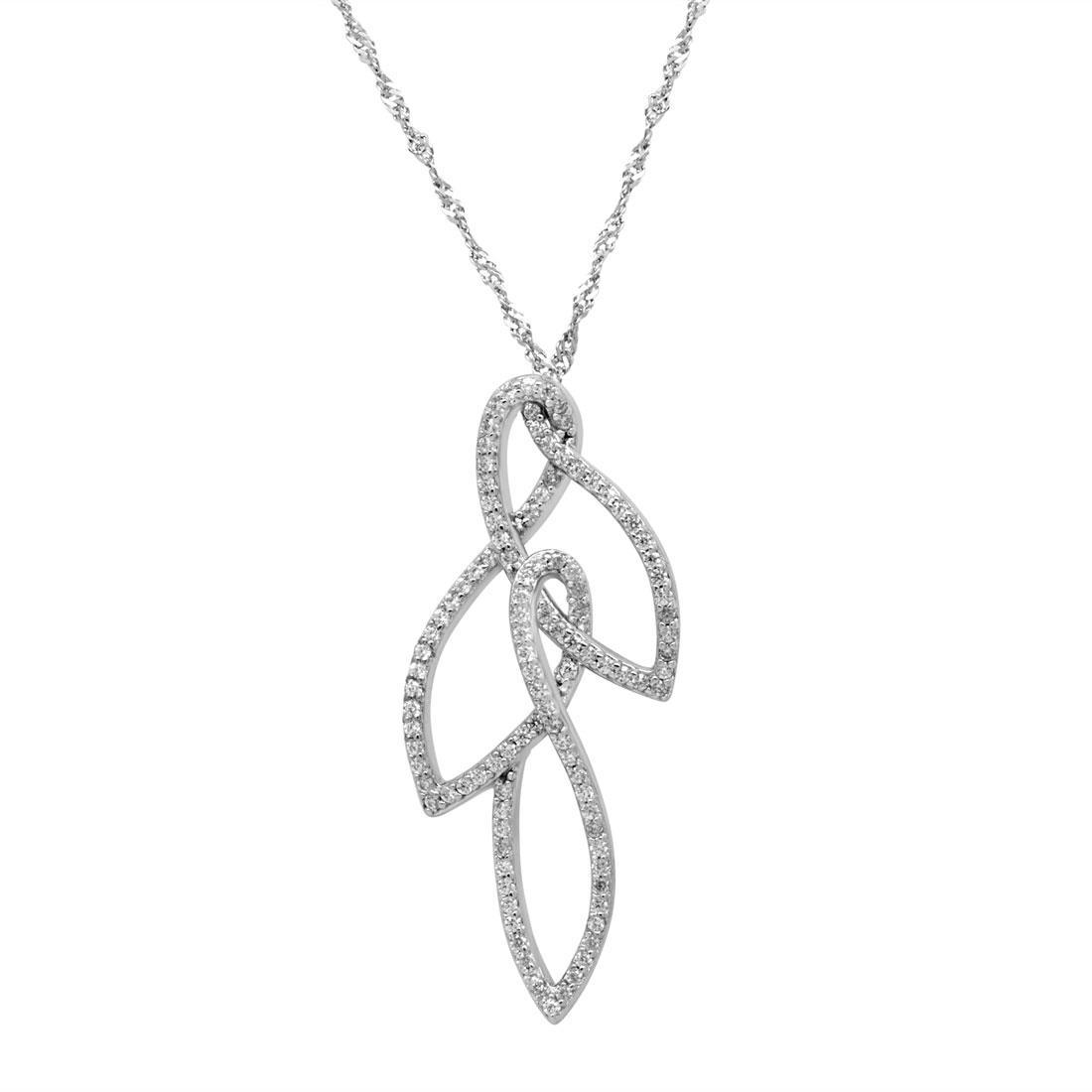 Collana in argento con zirconi - MORELLATO