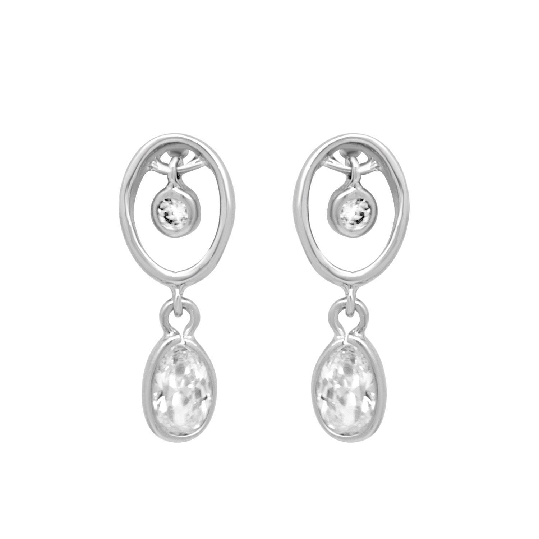 Orecchini pendenti in argento - ORO&CO