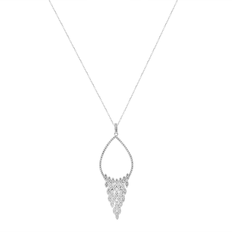 Collana in argento con pendente  - ORO&CO 925