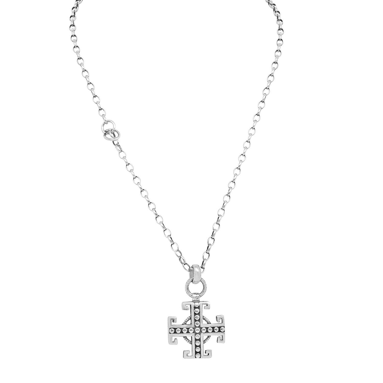 Collana da uomo con pendente in argento - ORO&CO 925